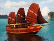 Hanoi - Halong bay - Overnight on Bien Ngoc cruise (2 days 1 nights)