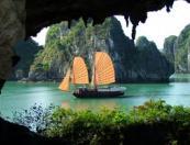 Hanoi - Halong bay - Overnight on Au Lac cruise (2 days 1 nights)